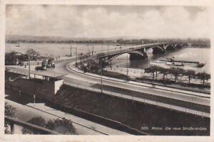AK Mainz Die neue Straßenbrücke gl1940 64.582