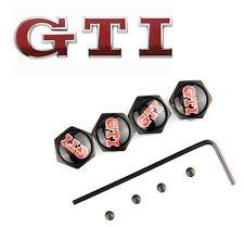Bouchons Valve + Logo GTI voiture PEUGEOT 205 208 308 Golf