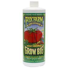 FoxFarm Grow Big Liquid Plant Food 6-4-4 Quart