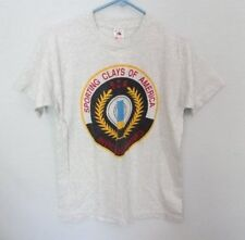 Sporting Clays of America gray short sleeve graphic t-shirt *Sz M*