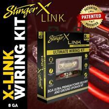 STINGER X X2K81 8 GAUGE POWER GROUND ULTIMATE PREMIUM AMPLIFIER AMP WIRING KIT