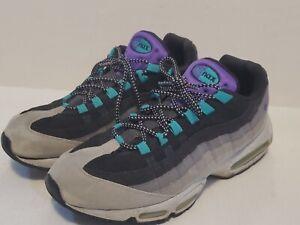 Nike Air Max 95 Grape Men's Shoes Size 13 Grey Black Purple 609048-030