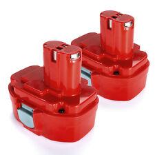 2Pack Ni-CD Battery for Makita PA18 1822 1823 1834 8391D 18 Volt Cordless Drill