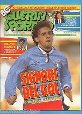 GUERIN SPORTIVO-1992 n.51- SIGNORI-NIZZOLA-JUGOVIC -NO FILM-NO ADESIIVI