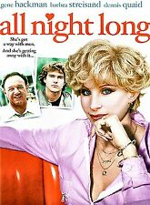 (BRAND NEW DVD)  All Night Long   Gene Hackman,Barbara Streisand,Dennis Quaid