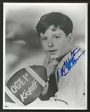 "Jerry Mathers ""The Beaver"" Football Signed Auto 8x10 Photo Autograph"