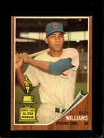 1962 TOPPS #288 BILLY WILLIAMS EX CUBS HOF *SBA7375