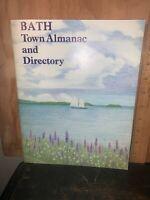 Bath MAINE Town Almanac And Directory 1985