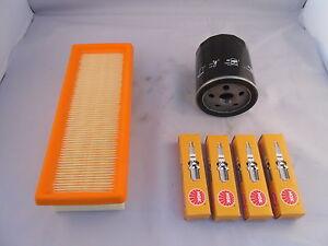 Fiat Punto Mk1 1.2 60 Petrol Service Kit Oil Air Filter Spark Plugs 1994 to 1999