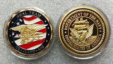 U.S. Navy SEAL TEAM 24KT GP Challenge Coin 71#