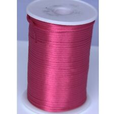 rose 2mm Rattail Satin Cord Macrame Beading Nylon kumihimo String DIY 10yds