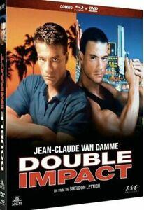 Blu Ray + DVD : Double impact - Ed Digibook - NEUF