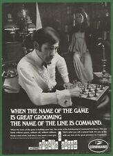 COMMAND Hair Dressing -1969 Vintage Print Ad