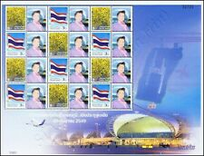 FEUILLE PERSON.: Symboles nationaux (I) -SUVARNABHUMI AIRPORT PS(A012)- (**)