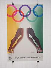 POSTER MANIFESTO-Olimpiadi 1972 Monaco-tutti i JONES-POP ART