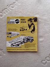 1970 MONOGRAM MODEL POCKET CATALOG TOM DANIEL BEER WAGON T RANTULA SNAP DRAGONS