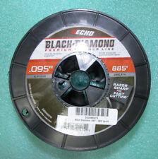 ECHO .095 BLACK DIAMOND STRING TRIMMER 885' SPOOL PART # 330095073 NEW