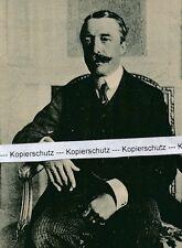 Fürst von Hohenlohe-Langenburg - Botschafter um 1915 - selten -  K 26-6