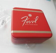 FOSSIL RETRO Geschenk-Schmuckbox Verpackung Armband Kette Charms Schmuckdose QR