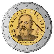 SPECIALE 2 EURO ITALIE 2014 GALILEO GALILEI  BIJ JOHN