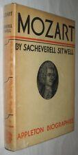 Sacheverell SITWELL (Edith Sitwell). Mozart. 1932 w/DJ SIGNED PRESENTATION