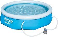 Bestway Casi Set Pool Set Con Bomba de Filtro Quick Redondo 305x76cm 57270