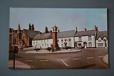 R&L Postcard: Wales, Twyn Square Usk,Austin Mini1960's/70s