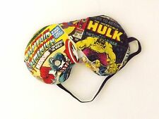 Sleep Mask - Captain America and Hulk Comic Book Page - Comes As Shown