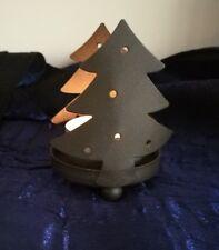 Kleiner weihnachtlicher Teelichthalter, 7,5 cm hoch