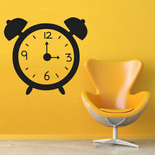 Wall Decal Sticker Vinyl Watch Time Alarm Clock Minute Bedroom M476