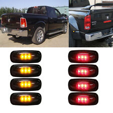 LED Bar Light & Smoked Led Side Fender Marker Light Dually For Dodge Ram 3500