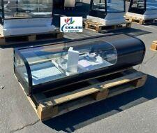 New Black 52 Sushi Bar Sashimi Seafood Cooler Case Refrigerator Commercial Nsf