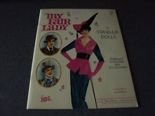 My Fair Lady 5 stand-up dolls Illustrations By Evon Hartmann