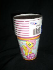 MIP 8x G4 My Little Pony Friendship is Magic 9oz Paper Cups Partyware Amscan