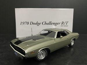 1970 Dodge Challenger R/T Hemi 426 A4 Silver Poly 1:24 ACME 1 Of 300