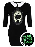 Banned Mini Dress In The Moment Glow In The Dark Women's Black