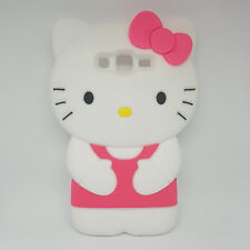 Funda Carcasa Silicona 3D Hello Kitty Samsung Galaxy Grand Prime G530