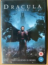 Dracula Untold DVD 2014 Vampire / Universal Horror Film Movie w/ Luke Evans