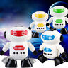 Mini Clockwork Wind Up Running Robot Funny Toy Kids Intellience Develop Toy