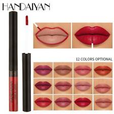 HANDAIYAN Waterproof Matte Lip Liner Pen Liquid Lipstick Pencil Lasting Makeup