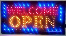 Neon Signs Led Neon Light Welcome Open Sign With Animation Onoff and Power OnOff