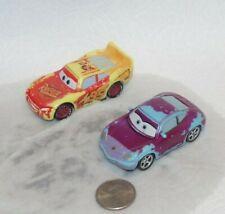 Disney Pixar Cars Color Changers Lot x2 Lightning McQueen & Sally Plastic 2-1