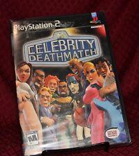 Celebrity Deathmatch PS2 New Sealed Free Shipping MTV Gotham Games