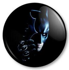 Batman 25mm Pin Button Badge Superhero DC Comics Bruce Wayne Dark Knight Rises
