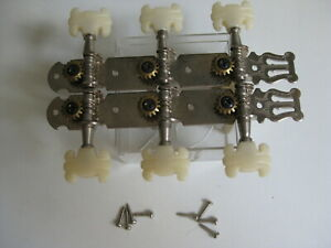 Vintage Memphis Global Aria Hondo Slotted Neck Guitar Tuners for Project Upgrade