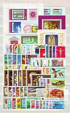 HUNGARY - 1977. Complete year set of 71 stamps and 7 s/s - MNH