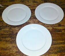 "(6) IKEA Susan Pyrke Design 365+ White Porcelain 10-1/2"" Dinner Plates"