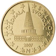 Monnaie 10 centimes cent cts euro Slovénie 2007, neuves du rouleau, UNC