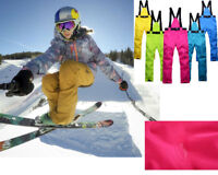 Winter Waterproof Snow Pants Sport Ski Overalls Snowboard Warm Thick Men Women
