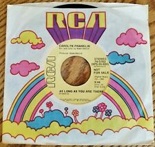 Carolyn Franklin : As Long As You Are There (DJ 45) 1972 Funk Soul